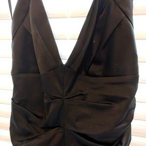BCBG black mini dress